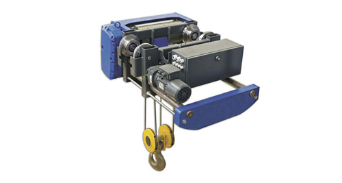Single beam European style hoist